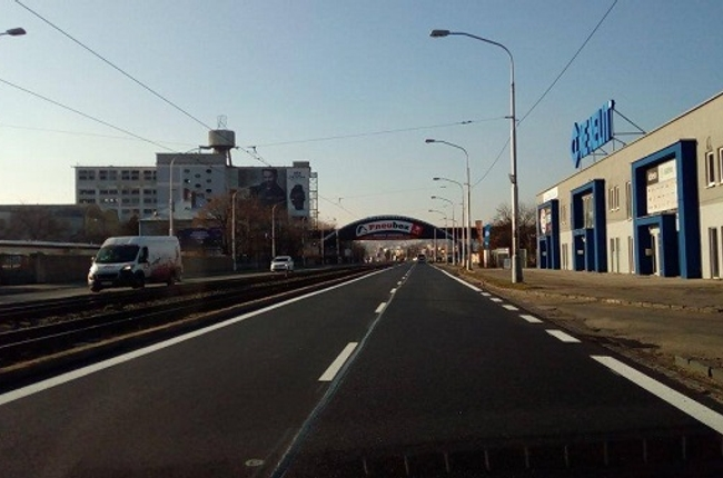 ac196340947c Mesto na vajnorskej ulici položilo nový asfalt - Vajnorska opravena