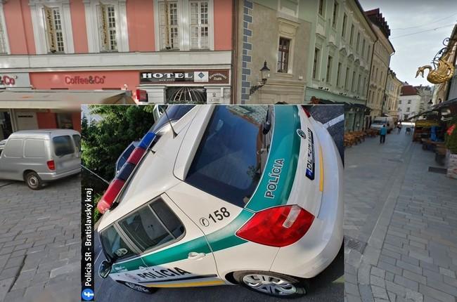 73ec3c86c Zaskočení štátni policajti: Rakúšan im chcel ukradnúť zo služobného auta  anténu!