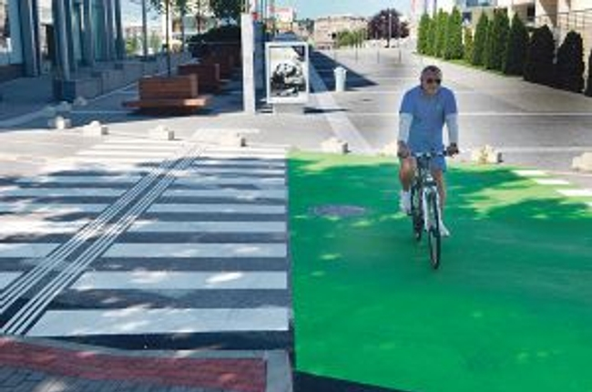 Z eurofondov chce mesto financovať aj budovanie cyklotrás - pribinova cyklo1 41190db7f01