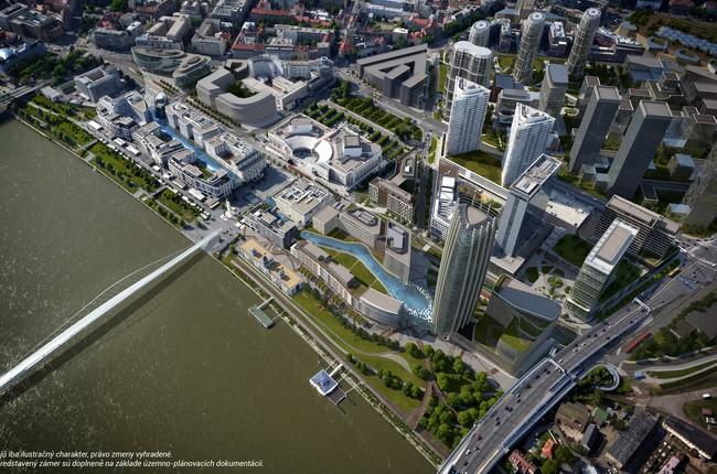 FOTO  Novú štvrť a rozšírenie projektu Eurovea navrhne medzinárodne  uznávaná architektka Beth Galí 2381753547e