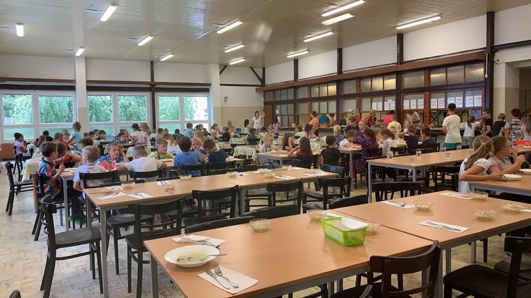 Jedáleň základné školy